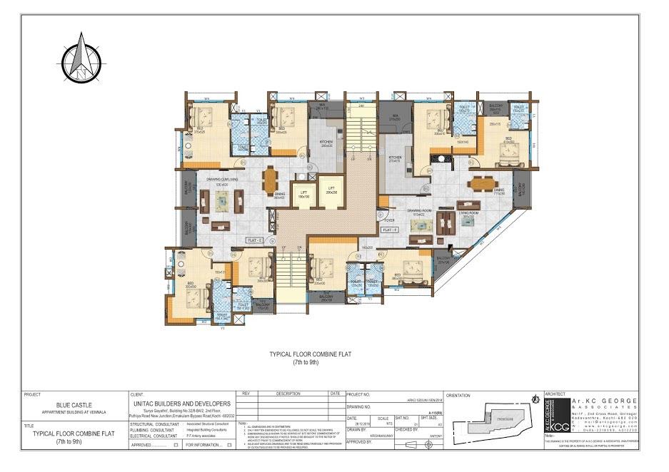 unitac builders flats in kochi villas in cochin flat a